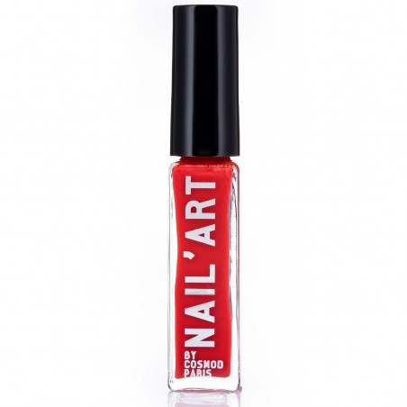 COSMOD - Vernis Nail Art - 08 Rouge