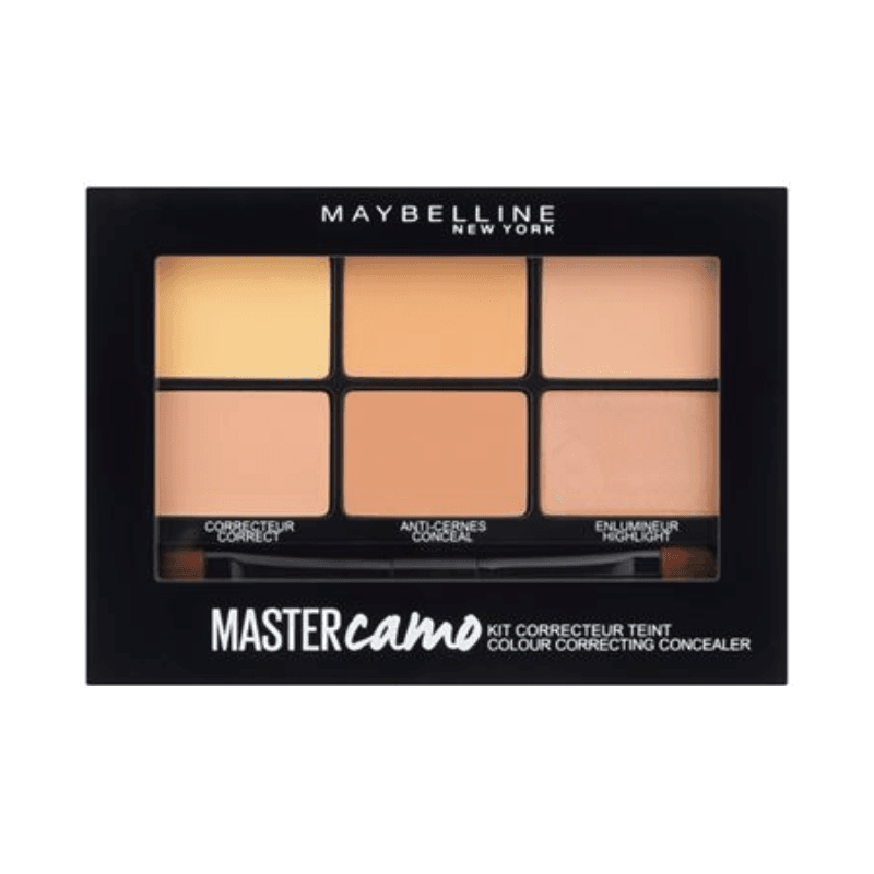 GEMEY MAYBELLINE - Palette Kit Correcteur De Teint MASTER CAMO - 02 Medium