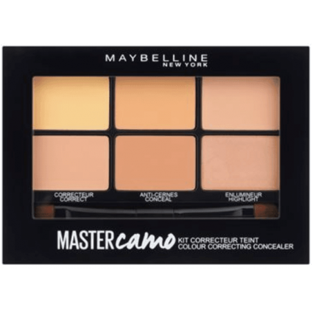 Maybelline New York - Palette Kit Correcteur De Teint MASTER CAMO - 02 Medium
