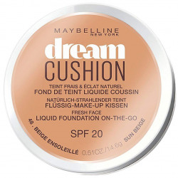 GEMEY MAYBELLINE - Fond De Teint DREAM CUSHION - 48 Beige Ensoleillé