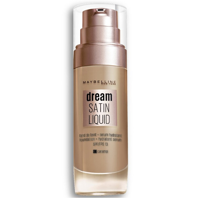 GEMEY MAYBELLINE - Fond De Teint DREAM SATIN LIQUID - 60 Caramel