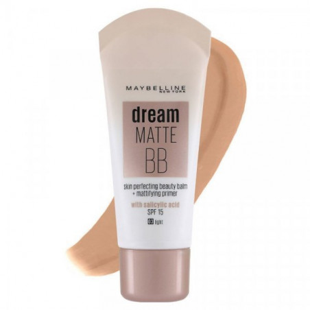 GEMEY MAYBELLINE - BB Crème DREAM MATTE BB - Clair