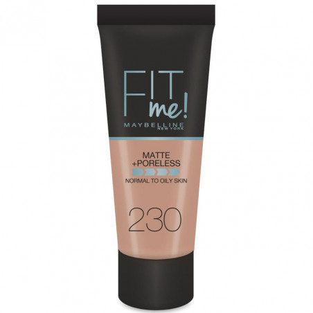 GEMEY MAYBELLINE - Fond de teint FIT ME MATTE & PORELESS - 230 Beige Sable