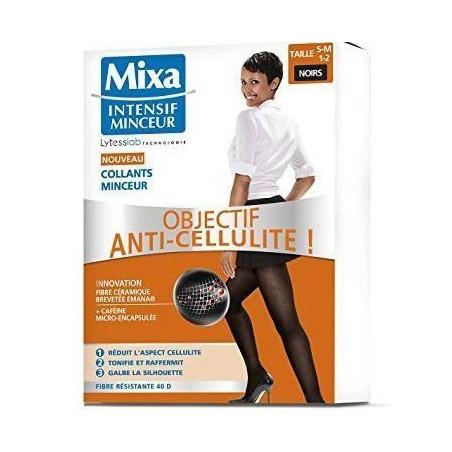 Mixa - Collants Minceur Anti-Cellulite - S-M