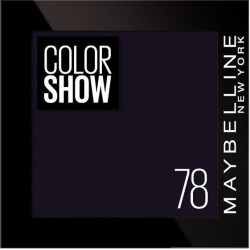 Maybelline New York - Ombre à paupières COLOR SHOW - 78 Black Velvet