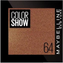 GEMEY MAYBELLINE - Ombre à paupières COLOR SHOW - 64 One Cent Copper