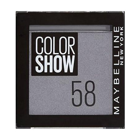 Maybelline New York - Ombre à paupières COLOR SHOW - 58 Glizzy Grey