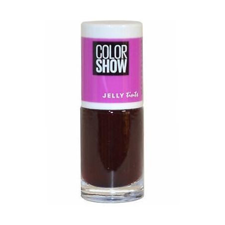 GEMEY MAYBELLINE - Vernis COLORSHOW JELLY TINTS - 460 Berry Merry