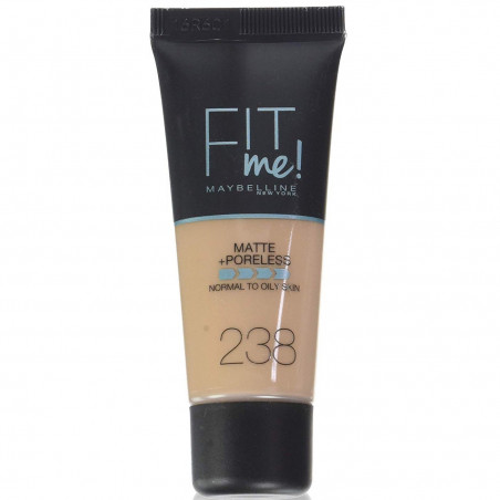 GEMEY MAYBELLINE - Fond de teint FIT ME MATTE & PORELESS - 238 Rich Tan