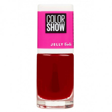 GEMEY MAYBELLINE - Vernis COLORSHOW JELLY TINTS - 458 Fuchsianista
