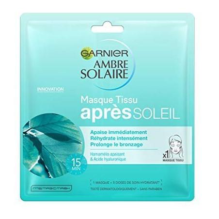GARNIER - Masque Tissu Après-Soleil AMBRE SOLAIRE