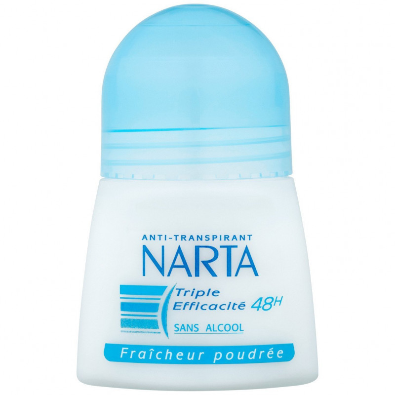 NARTA - Anti-Transpirant - Fraîcheur Poudrée