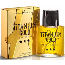 TITANIUM GOLD - Eau de Toilette H Pour Homme
