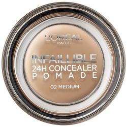 L'ORÉAL - Correcteur 24H Concealer Pomade INFALLIBLE - 02 Medium