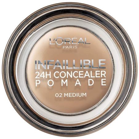 L'ORÉAL - Correcteur 24H Concealer Pommade INFALLIBLE - 02 Medium