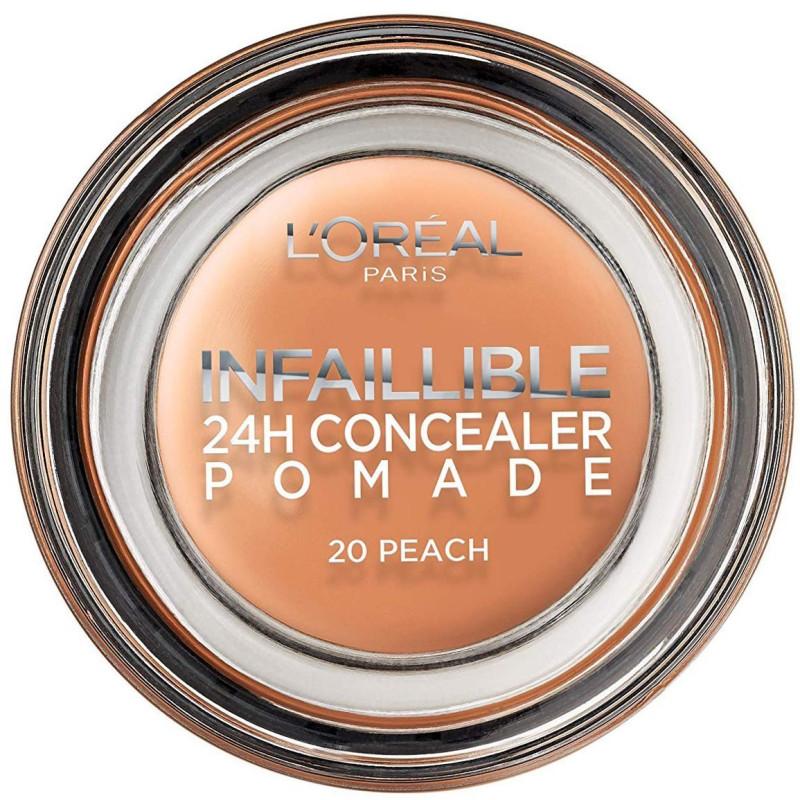L'ORÉAL - Correcteur 24H Concealer Pommade INFALLIBLE - 20 Peach