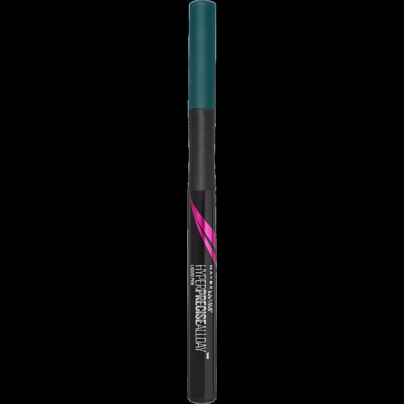 GEMEY MAYBELLINE - Eye-Liner Liquide HYPER PRECISE ALLDAY - Jungle Green