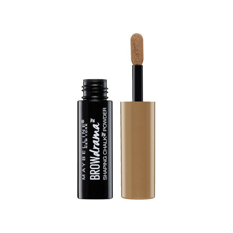 GEMEY MAYBELLINE - Poudre à Sourcils BROW DRAMA SHAPING CHALK - 100 Blonde