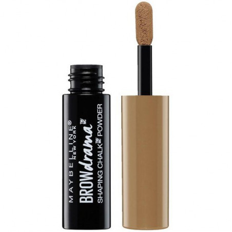 MAYBELLINE NEW YORK - Poudre à Sourcils BROW DRAMA SHAPING CHALK - 100 Blonde