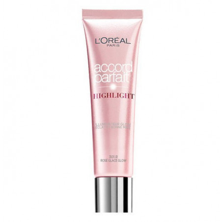 L'Oréal Paris - Enlumineur Liquide ACCORD PARFAIT HIGHLIGHT - 301R Éclat Rosé Glacé