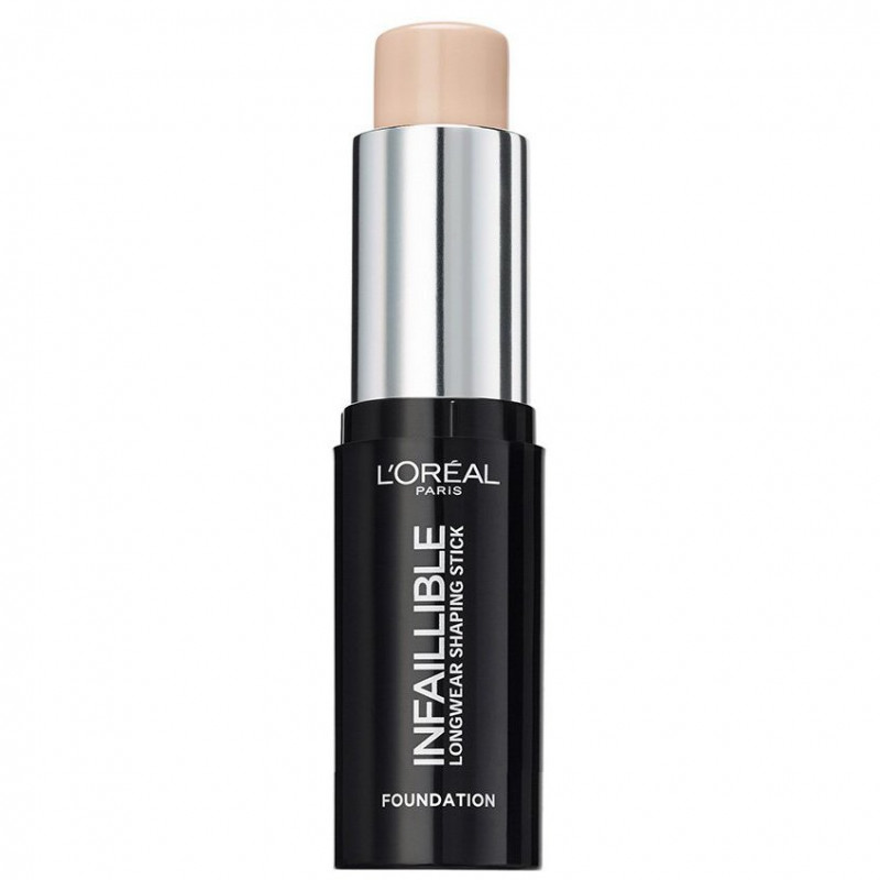 L'ORÉAL - Fond de Teint Stick Sculptant Longue Tenue INFAILLIBLE - 140 Naturel Rose