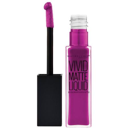 GEMEY MAYBELLINE - Rouge à lèvres VIVID MATTE LIQUID - 42 Orchid Shock