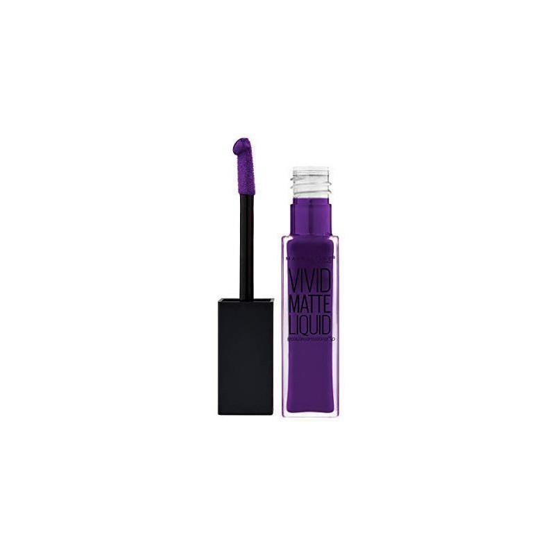 GEMEY MAYBELLINE - Rouge à lèvres VIVID MATTE LIQUID - 43 Vivid Violet