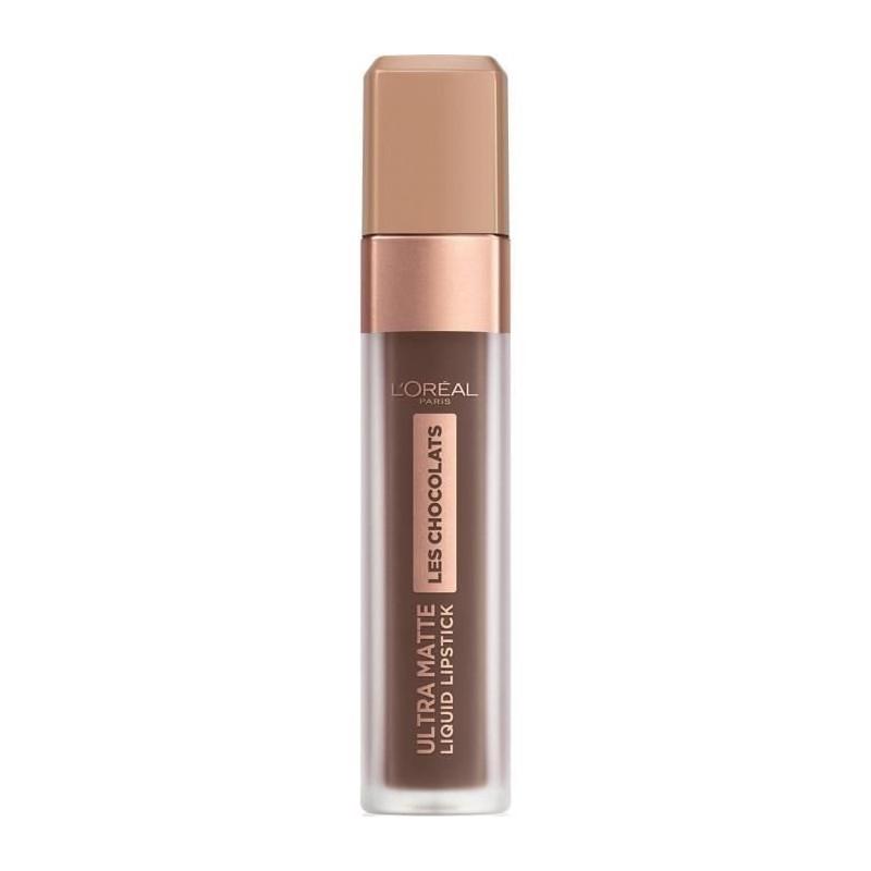 L'ORÉAL - Rouge à Lèvres Ultra Matte STEFFI'S CHOCOLATES - 856 70% Yum