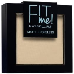 GEMEY MAYBELLINE - Poudre ton sur ton matifiante FIT ME MATTE & PORELESS - 105 Ivoire Naturel