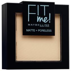 GEMEY MAYBELLINE - Poudre ton sur ton matifiante FIT ME MATTE & PORELESS - 120 Beige Rosé