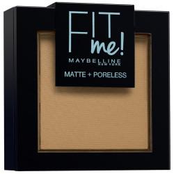 GEMEY MAYBELLINE - Poudre ton sur ton matifiante FIT ME MATTE & PORELESS - 350 Caramel