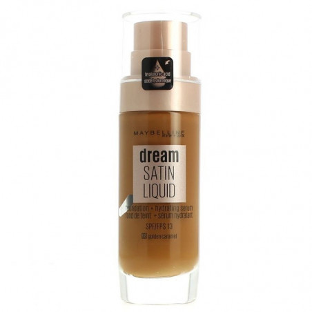 GEMEY MAYBELLINE - Fond De Teint DREAM SATIN LIQUID - 68 Caramel Ambré