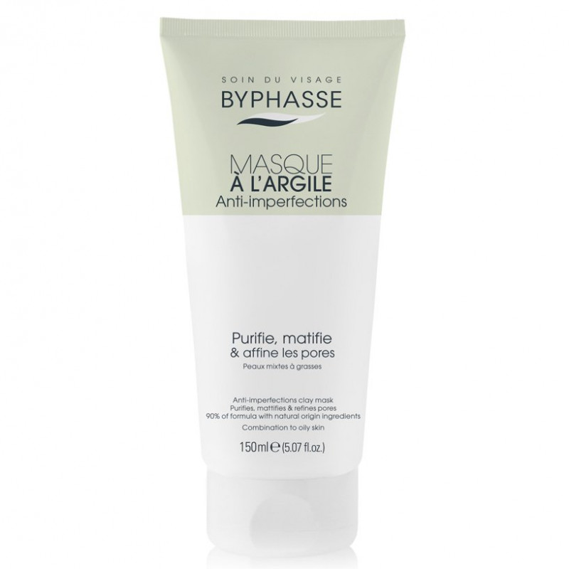 BYPHASSE - Masque à l'Argile Anti-imperfections