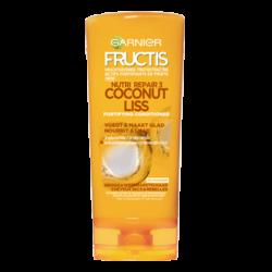 Fructis - Après-Shampoing COCONUT LISS - Cheveux Secs & Rebelles
