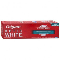 COLGATE - Dentifrice OPTIC WHITE - Blanchissant 75ml