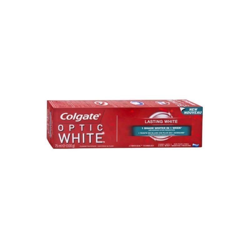 COLGATE - Dentifrice OPTIC WHITE - Blanchissante 75ml