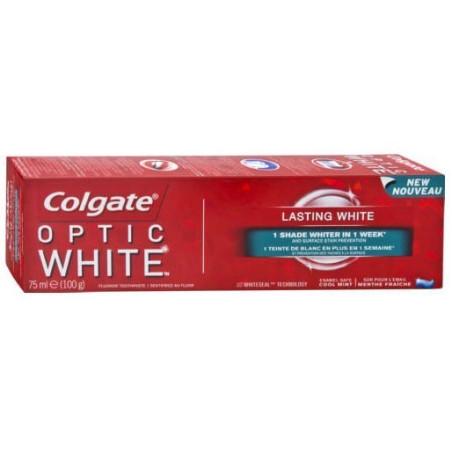 COLGATE - Dentifrice OPTIC WHITE - Blanchissant 75ml