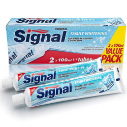 SIGNAL - Lot de 2 Dentifrices FAMILY WHITENING - 2×100ml