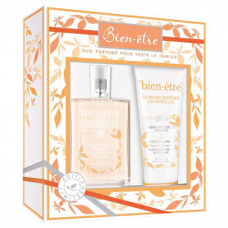 BIEN-ÊTRE L'HERBORISTE - Coffret Duo Parfumé des Familles - Mandarine