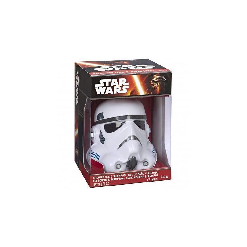 STAR WARS - Gel Douche et Shampoing - Pompe StormTrooper