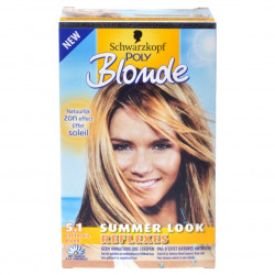 SCHWARZKOPF - Coloration POLY BLOND Effet Soleil - 5.1 Blond Californie