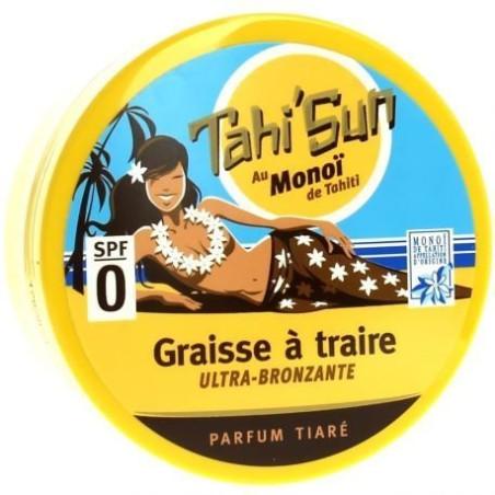 SOLEIL DES ÎLES - Graisse à Traire Ultra Bronzante - Parfum Tiaré SPF 0