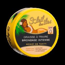 Soleil Des Îles - Graisse à Traire Bronzante Intense - Monoï de Tahiti - Parfum Vanille
