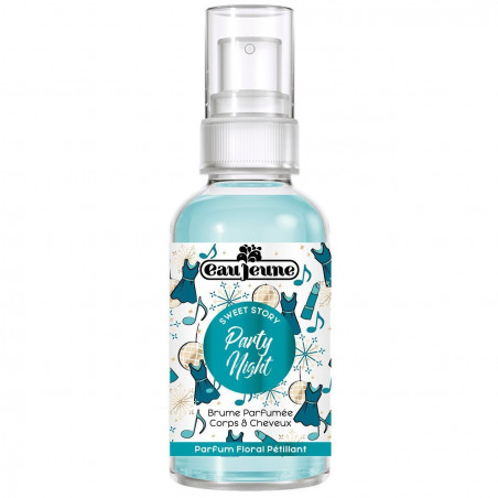 EAU JEUNE - Brume Parfumée Corps & Cheveux SWEET MEMORIES - Party Night