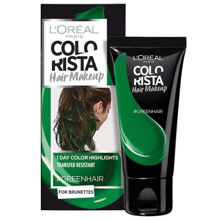 L'ORÉAL - Coloration Éphémère COLORISTA HAIR MAKE-UP - GreenHair