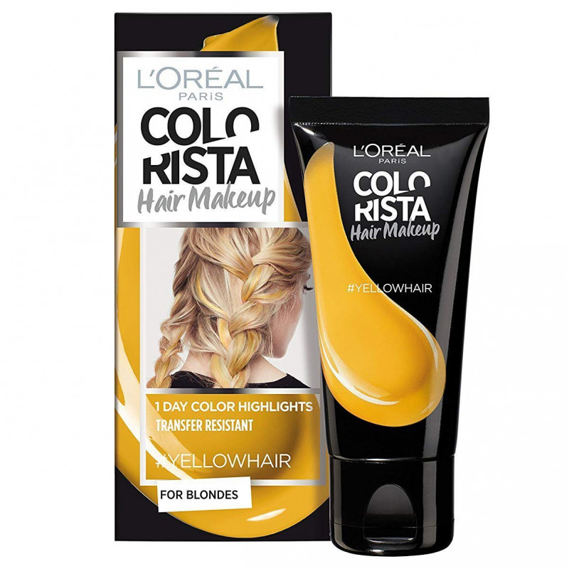 L'ORÉAL - Coloration Éphémère COLORISTA HAIR MAKE-UP - Jaune