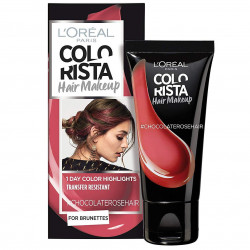 L'ORÉAL - Coloration Éphémère COLORISTA HAIR MAKE-UP - ChocolateRoseHair