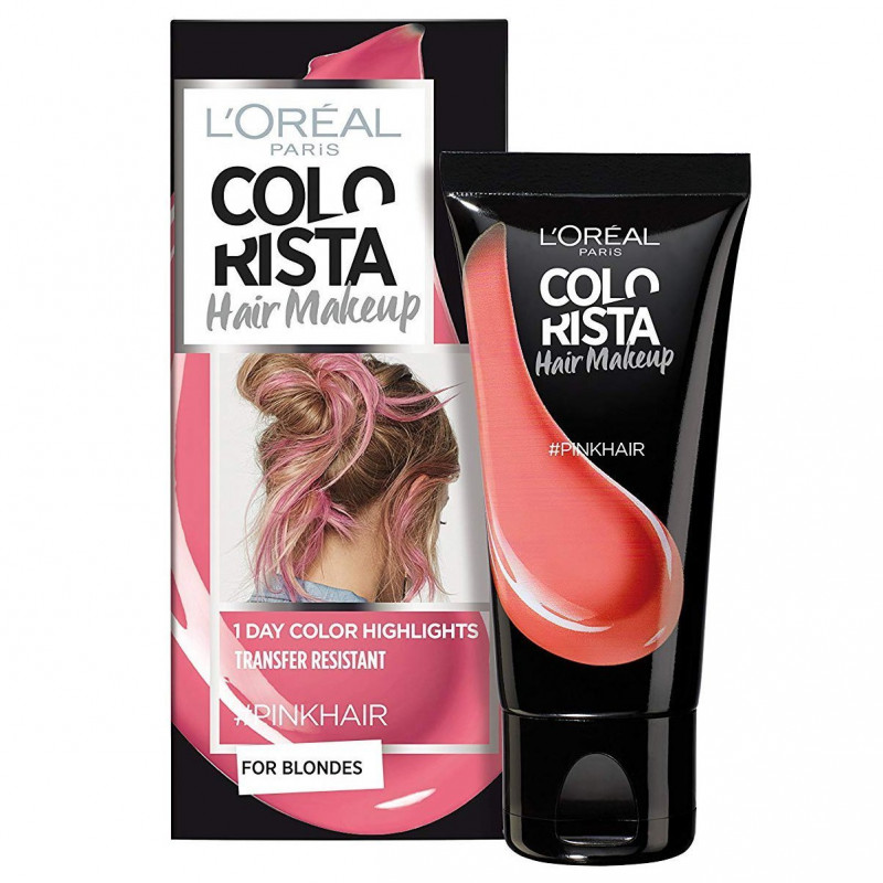 L'ORÉAL - Coloration Éphémère COLORISTA HAIR MAKE-UP - PinkHair