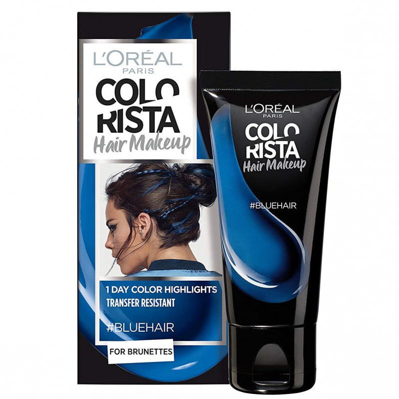 L'ORÉAL - Coloration Éphémère COLORISTA HAIR MAKE-UP - Bleu