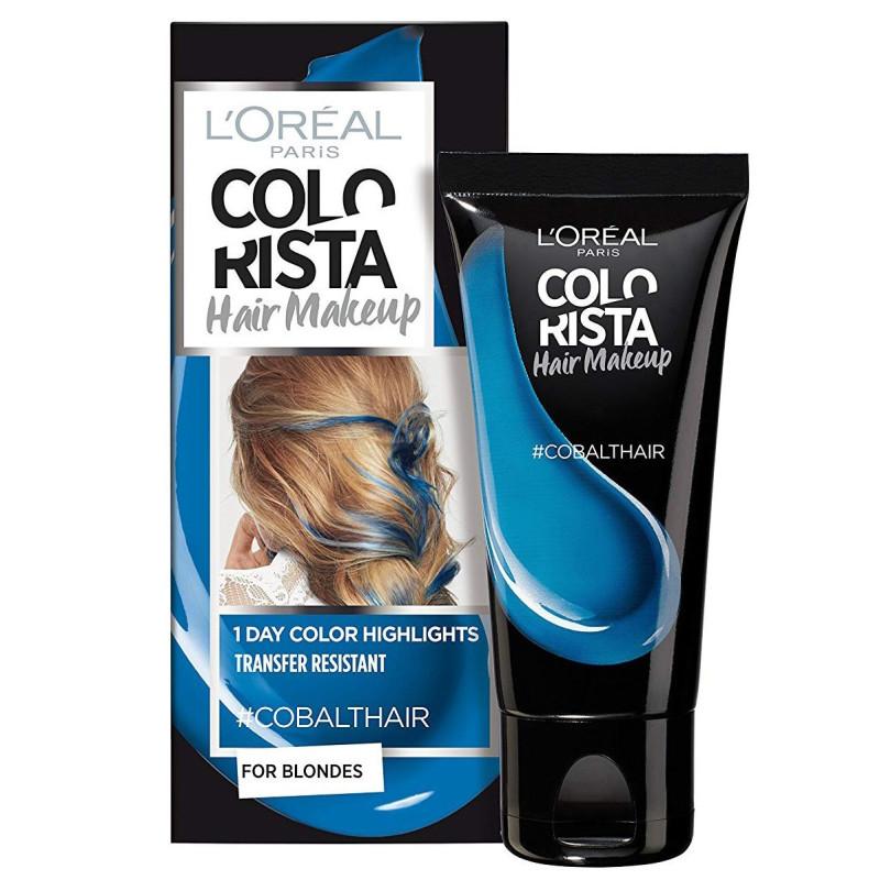 L'ORÉAL - Coloration Éphémère COLORISTA HAIR MAKE-UP - Cobalt